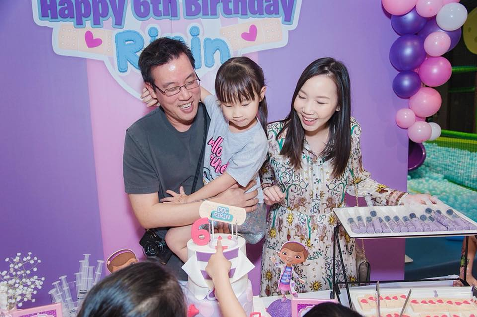 Doc Mcstuffin Birthday Party with customized decoration, backdrop, birthday cake, desserts, pinata and activities