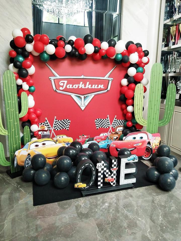 Birthday party decoration for Jaokhun! Thank you our celeb customer, K.Kratae, for choosing us, the party planner for kids birthday, providing one-stop party service in Bangkok area