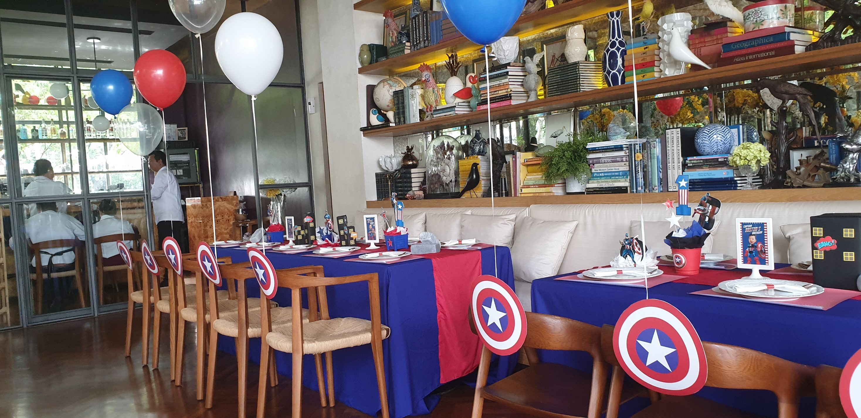 Celebrating your kids' birthday party in heroic way with