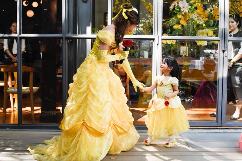 All time favorite princess Belle in Beauty and the Beast birthday. A lot of memorable moments with party decoration, princess mascot and fun games
