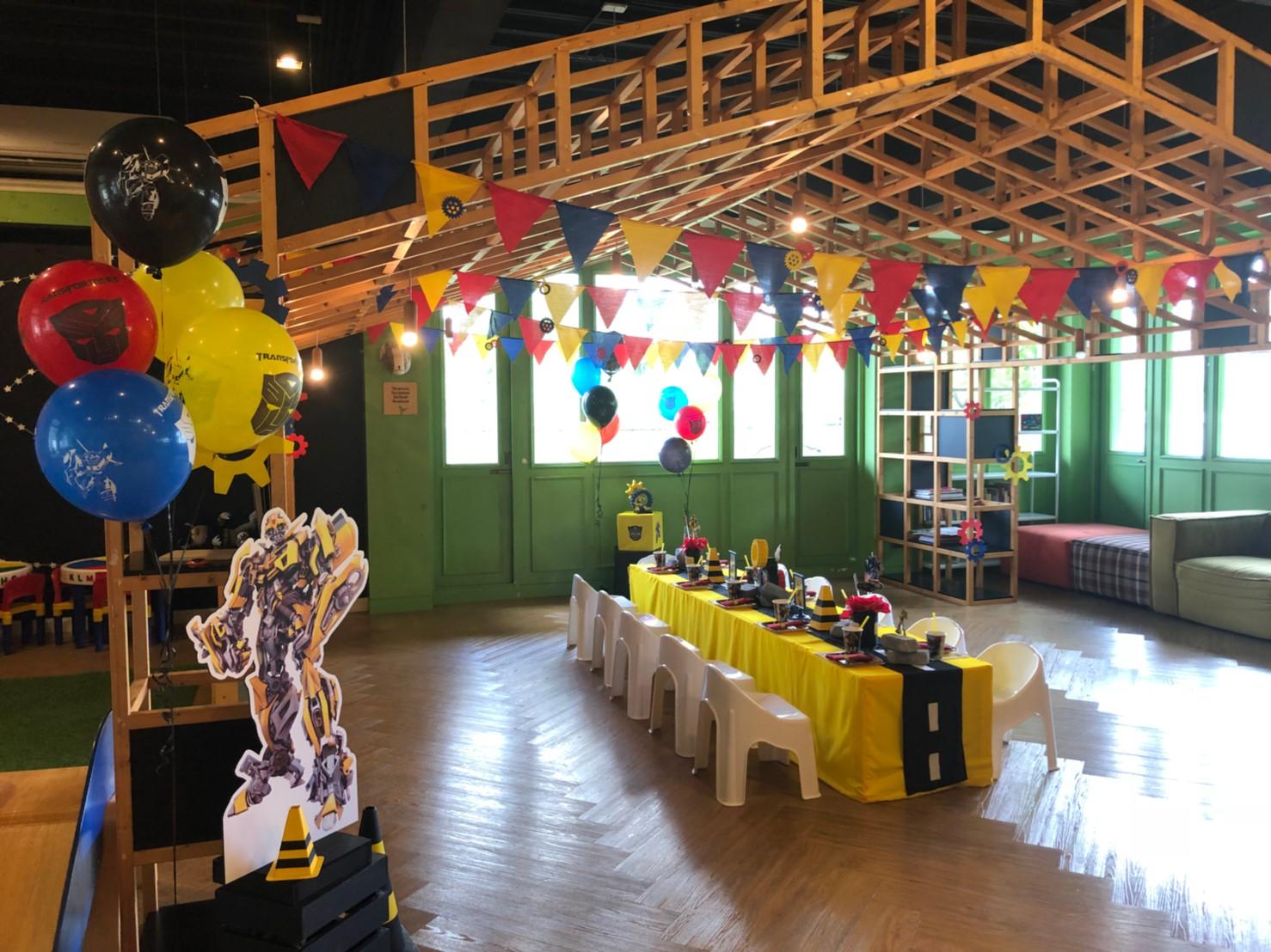 ปาร์ตี้วันเกิดน้องแมกซ์เวลในธีม Bumblebee จาก Transformers ฉลองครบ 5 ขวบกับคุณพ่อไมค์ พิรัช และคุณแม่ซาร่า บรรยากาศปาร์ตี้อบอุ่น งานตกแต่งน่ารัก และกิจกรรมแสนสนุก