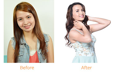 Gluta-C Intense Whitening w/ Papaya Exfoliants Body Soap - Before and After