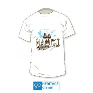 Hampi-text-white-tshirt