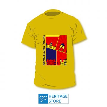 Bangalore comic yellow run T-shirt