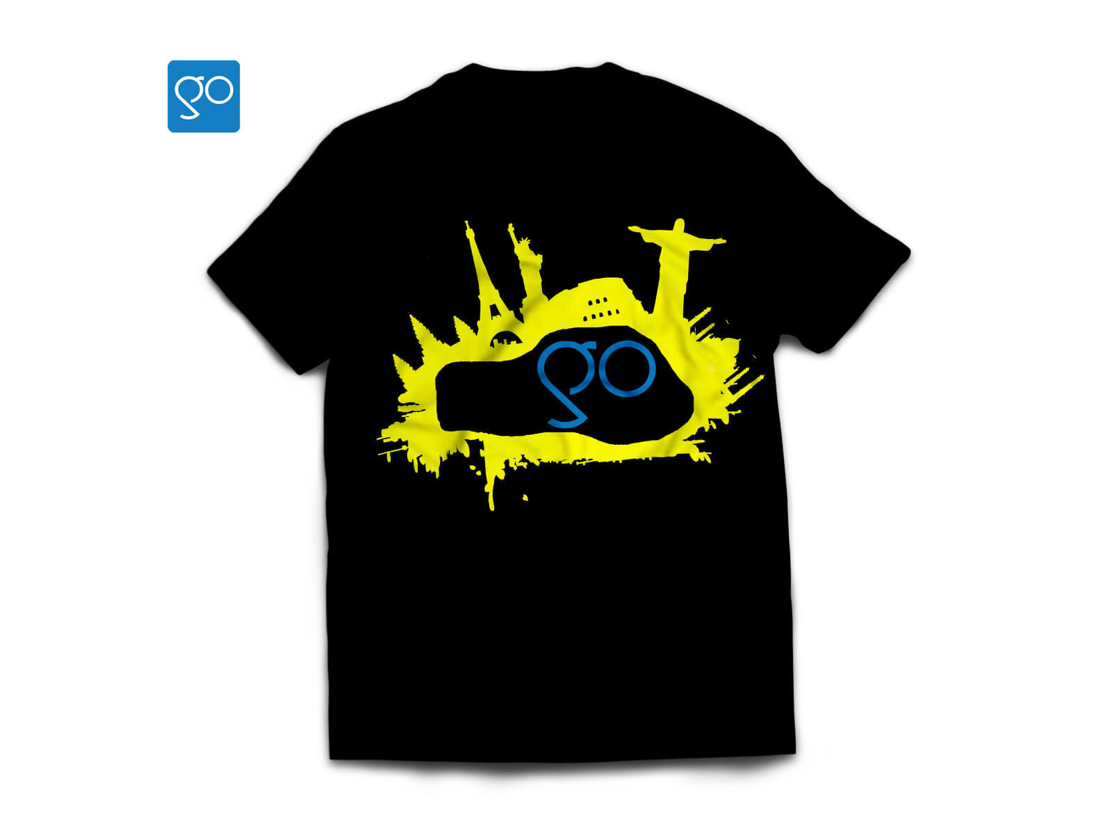 GoUNESCO-tshirt-Black-and-yellow
