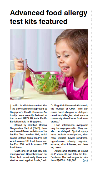 Food Allergy Featured Article