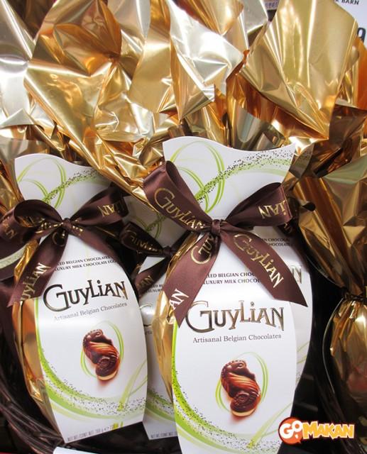 A Guylian Easter Egg