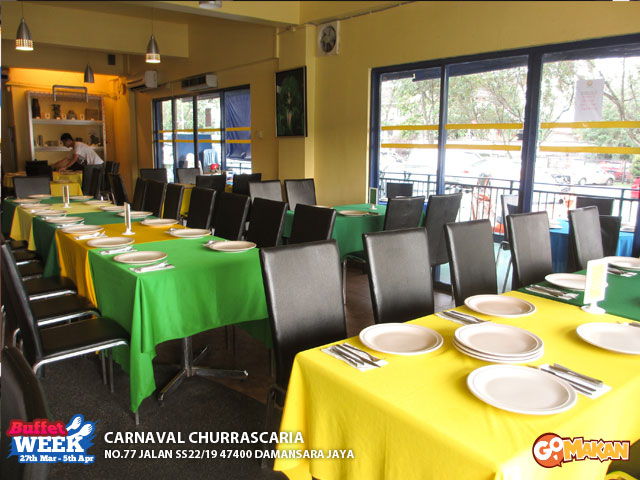 Carnaval Churrascaria indoor sight
