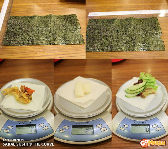 Sakae Sushi @ The Curve [measurement]