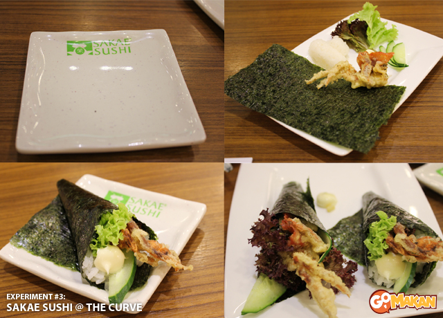 Sakae Sushi @ The Curve [step by step]