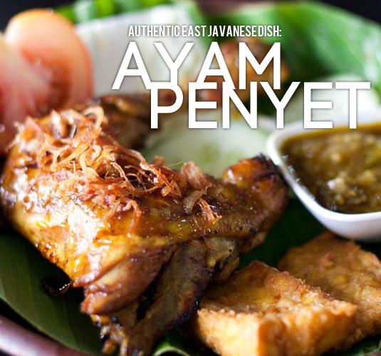 Ayam Penyet around Klang Valley