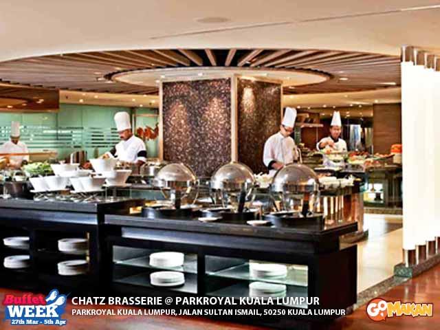 Chatz Brasserie, Park Royal, KL @ GoMakan