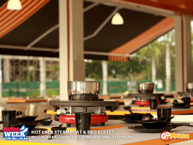 Hot Lala Steamboat & BBQ Buffet