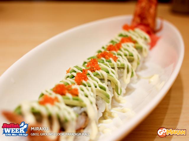 Dragon Ball Roll Sushi