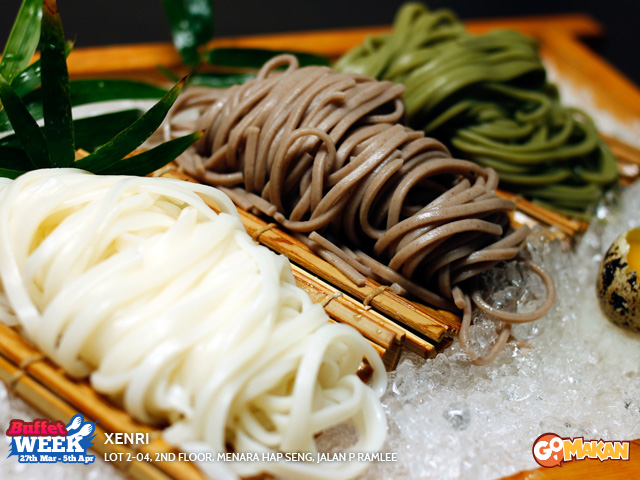 Assorted Cold Japanese Noodles