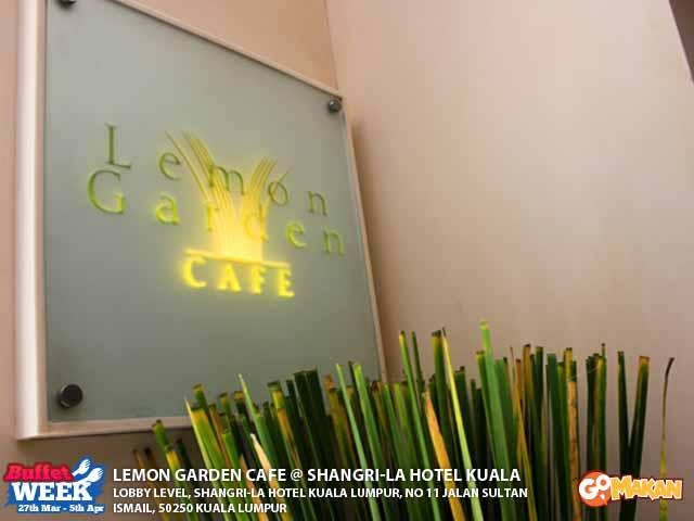 Lemon Garden Cafe, Shangri-La Hotel @ GoMakan