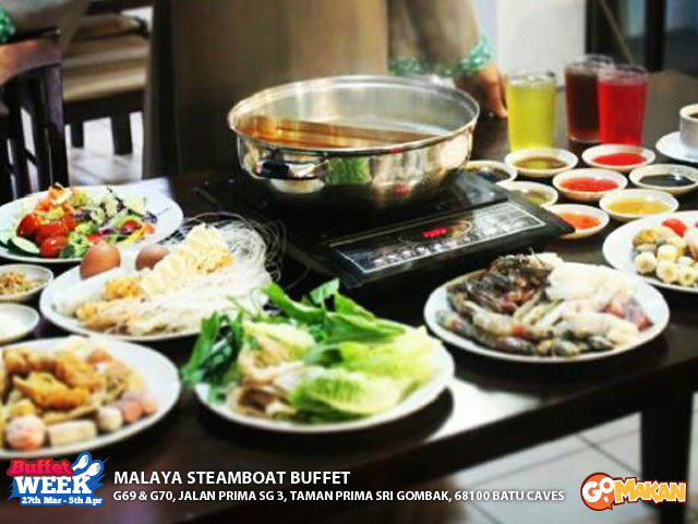 Malaya Steamboat Buffet