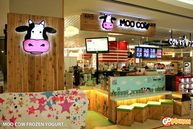 Moo Cow Frozen Yogurt in One Utama