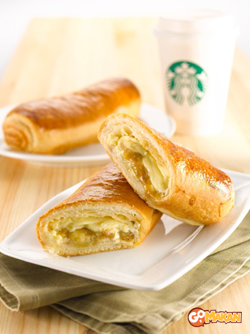 Cheesy monkey wrap - Starbucks