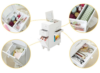 Multi-compartment dressing table