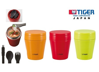 Tiger 300ML Double Stainless Steel Food Jar at $39 (Worth $79). 3 Colours Available.
