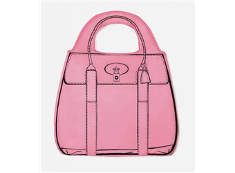 Mustard Shopperholic Shopper (Pink) MUSTARD