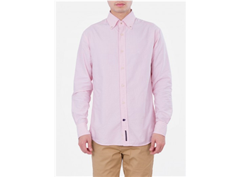Sacoor Brothers Oxford Shirt Button Down (Light Pink)