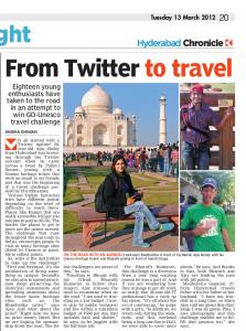 Deccan Chronicle GoUNESCO