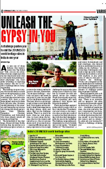 Hyderabad Times GoUNESCO