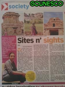 Cochin Deccan Chronicle GoUNESCO