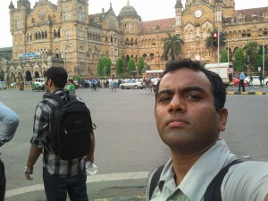 Self Portrait at CST