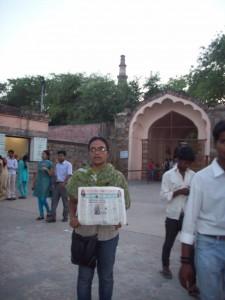 Shravya in Delhi