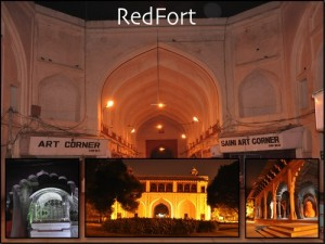 Red Fort – By night!!!