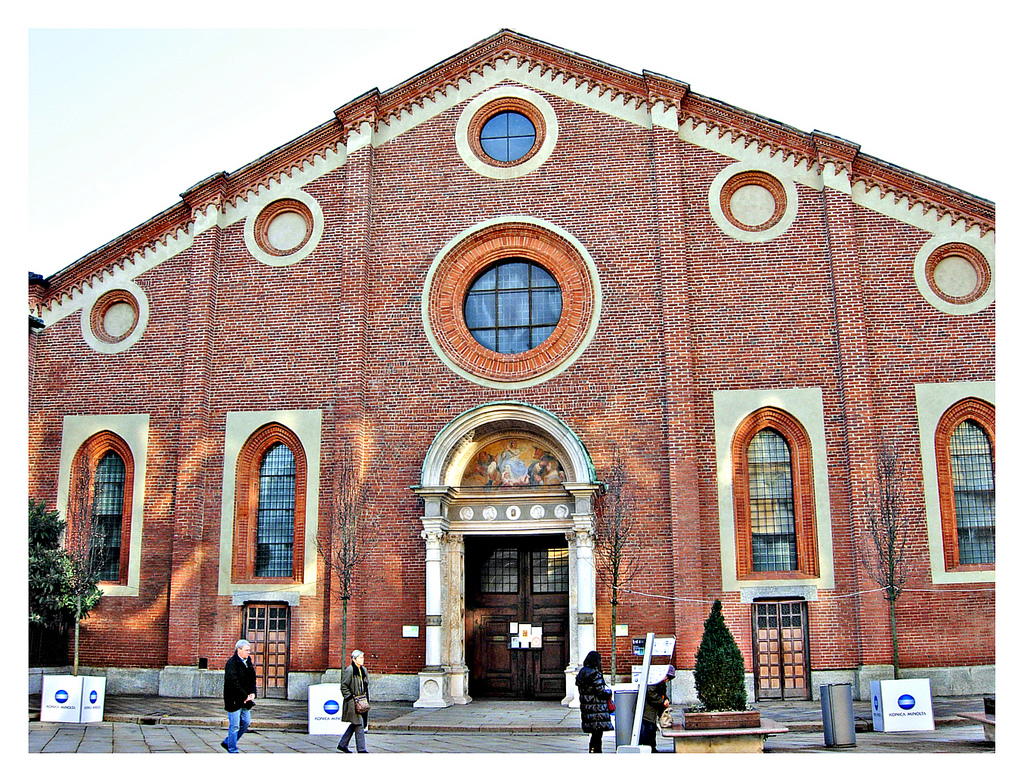 Church and Dominican Convent of Santa Maria delle Grazie with The Last Supper