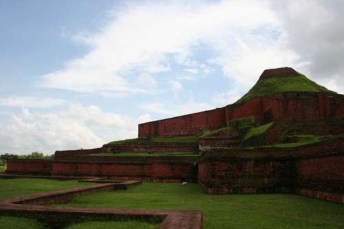 Ruins of the Buddhist Vihara at Paharpur