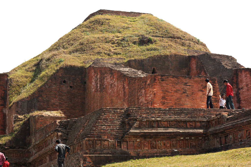 Ruins of the Buddhist Vihara at Paharpur