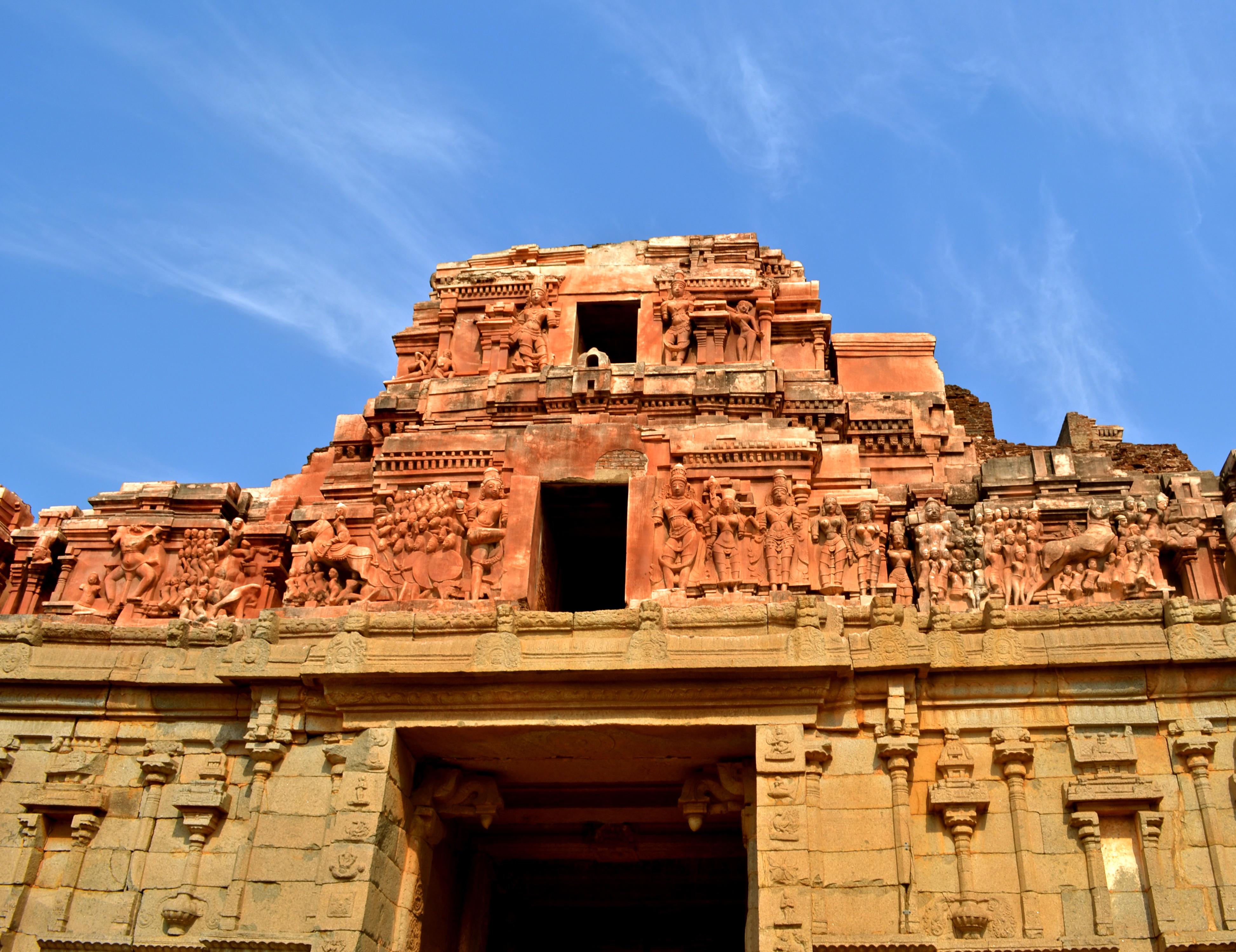 Hampi Krishna Gopura