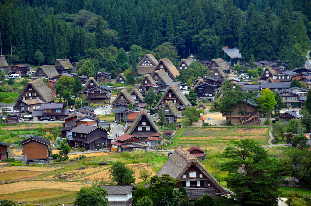 Historic Villages of Shirakawa-go and Gokayama