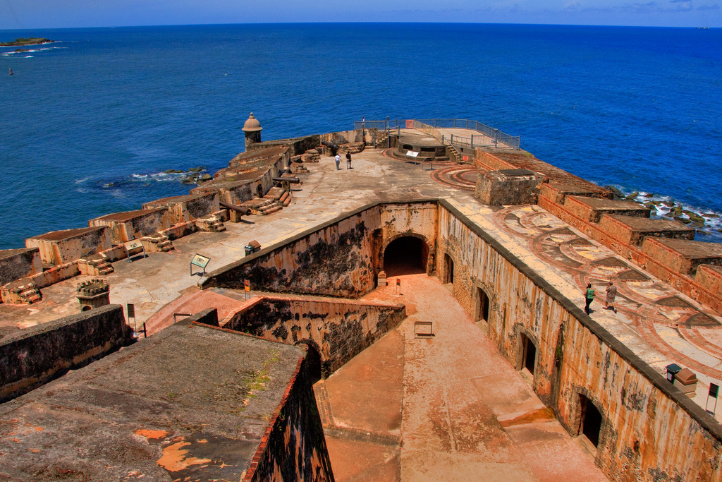 La Fortaleza and San Juan National Historic Site in Puerto Rico