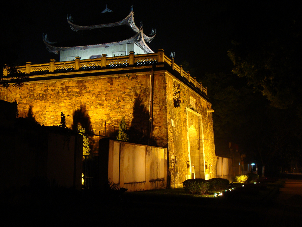 Central Sector of the Imperial Citadel of Thang Long – Hanoi