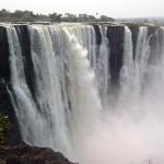 Victoria falls foam