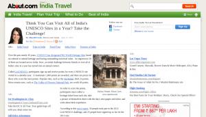 About India - GoUNESCO