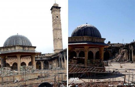 Ancient City of Aleppo Minaret