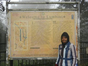 Lumbini, the Birthplace of the Lord Buddha