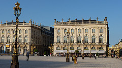 Place Stanislas, Place de la Carrière and Place d'Alliance in Nancy
