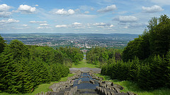 Hercules' view towards Kassel