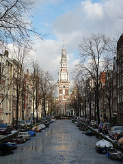A trip round the canals of A'dam