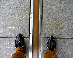 Walking the Meridian Line