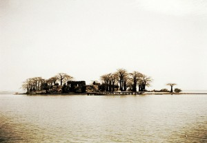 Kunta Kinteh Island in the River Gambia