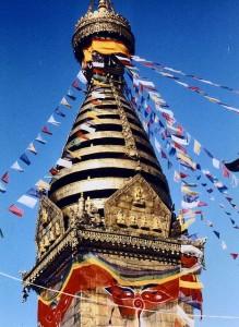 Swayambhunath stupa, Kathmandu Valley